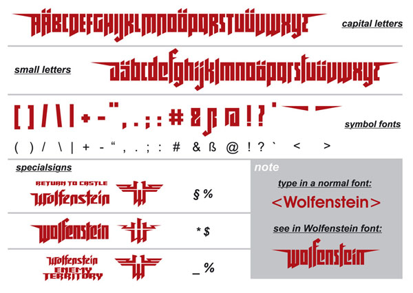 Downloads - Wolf Tools + Utilitys - WOLF TTF FONT