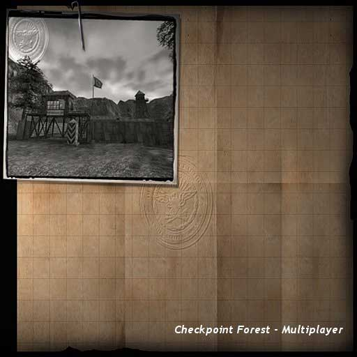 Downloads - RtCW Maps - FOREST CHECKPOINT (MP)