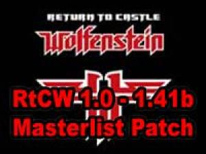 Alternative RtCW Master Server List patches