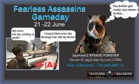 Fearless Assassins Summer Gameday