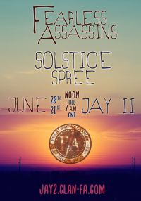 Fearless Assassins Solstice Spree Event