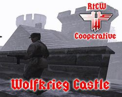 Coop Wolfkrieg Castle SP Map Misssion