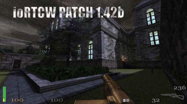 RTCW Unofficial v142a Patch Fixes problems on Win Vista