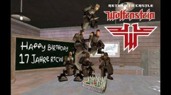 17th anniversary of RtCW