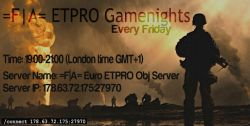 Fearless Assassins ETPRO Gamenights