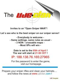[UJE] Clan Open Sniper War